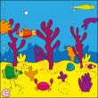 Marine life - Imagens vectoriais em stock