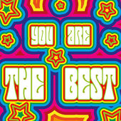 You are the best — Stock Vector