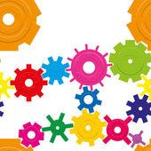 Cogwheels — Stockvector