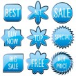 Royalty-Free Stock Vector Image: Buttons set