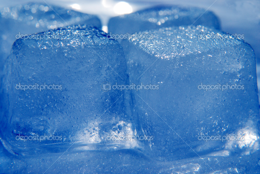 Glitter ice blocks. closeup — Stock Photo #5439592