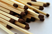 Wooden matches — Stock Photo