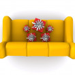 New Sofa — Stock Photo