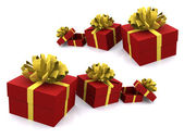 Gift_boxes — Stock Photo