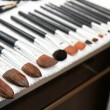Cleaning make-up brushes — Stock Photo #5884104
