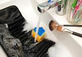 Purifying brushes case — Stock Photo