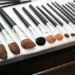 Drying make up brushes after wash — Stockfoto