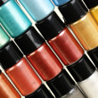 Multicolour make-up pigment — Stock Photo