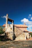 Chiesa nella città antica altos de chavon — Foto Stock