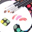 Professional tools for make-up artist — Stock Photo