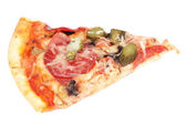 Slice of pizza — Stock fotografie
