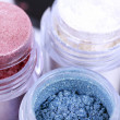 Stock Photo: Cosmetic color pigments for make-up