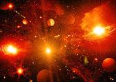 Cielo de espacio — Foto de Stock
