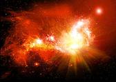 Céu de espaço — Foto Stock
