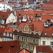 Old tiled roofs — Stock Photo