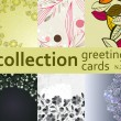 Stock Vector: Collection greeting cards