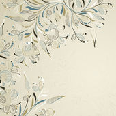 Floral background — Vecteur