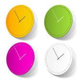 время стикер — Cтоковый вектор