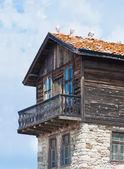 Edificio antiguo. bulgaria, nessebar. — Foto de Stock