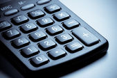 Calculator keyboard close-up. — Stock Photo