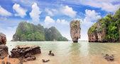 James Bond Island, Phang Nga, Thailand — Stock Photo
