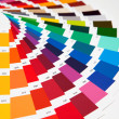 Set of samples of various colours — Stock Photo #6592959