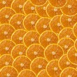 Background from the cut oranges — Stock Photo