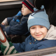 Stock Photo: Child driving