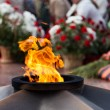 Stock Photo: Eternal Flame memorial