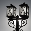 Street light lantern lamp — Stock Photo