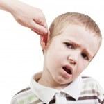 Child punishment — Stock Photo