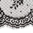 Macro lace texture. — Stock Photo