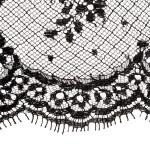 Macro lace texture. — Stock Photo