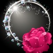 Royalty-Free Stock Vector Image: Roses and bubbles