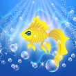 Royalty-Free Stock Vector Image: Goldfish