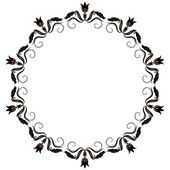 Round ornament — Stock Vector