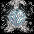 Disco in the New year - Stock Vector