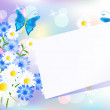 Floral background - Stock vektor