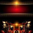 Royalty-Free Stock Immagine Vettoriale: Background with glowing stars