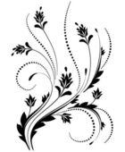 Dekorative verzierung — Stockvektor