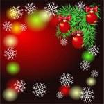 Fondo de Navidad — Vector de stock