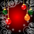 Christmas background — Stock vektor #6101048
