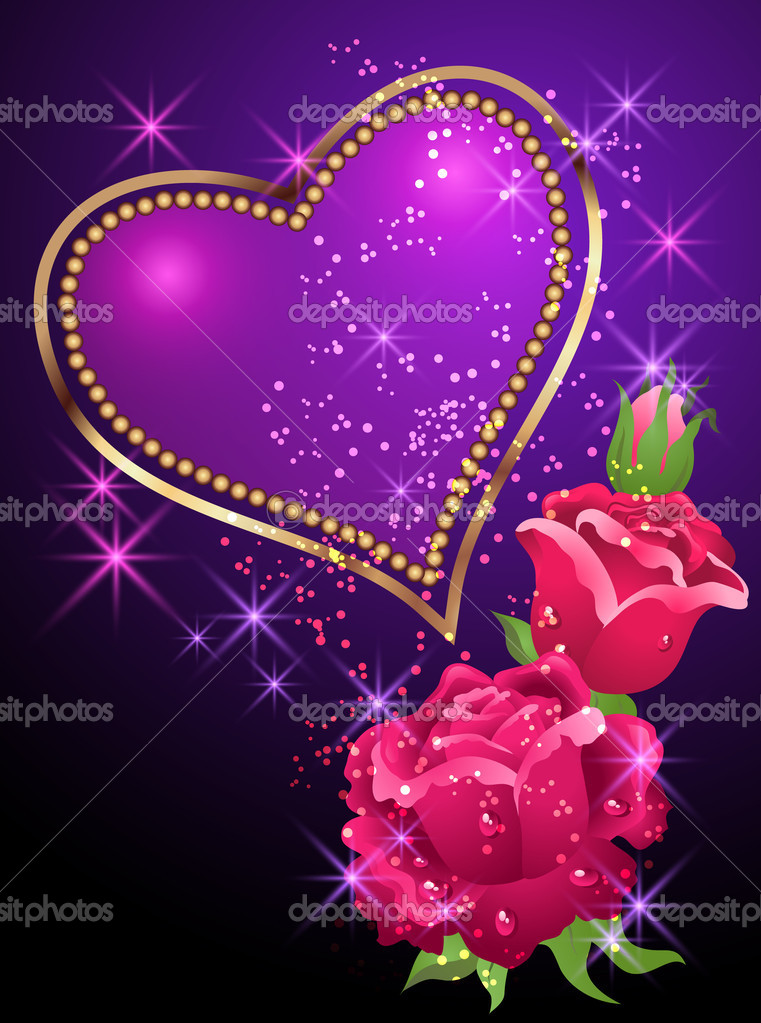 Golden Rose Heart Golden Heart Roses And