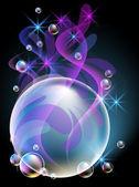 Bubbles — Vetor de Stock