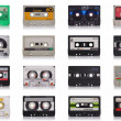 Retro music cassette - Foto Stock