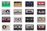 レトロな音楽カセット — ストック写真