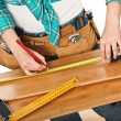 Carpenter detail — Stock Photo