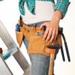 Stock Photo: Carpenter detail
