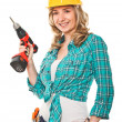 Smiling woman at work — Stock Photo #5609993