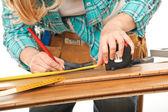 Carpenter detail — Stock Photo